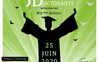 JDD 2020 – Journée des doctorants le 25 juin