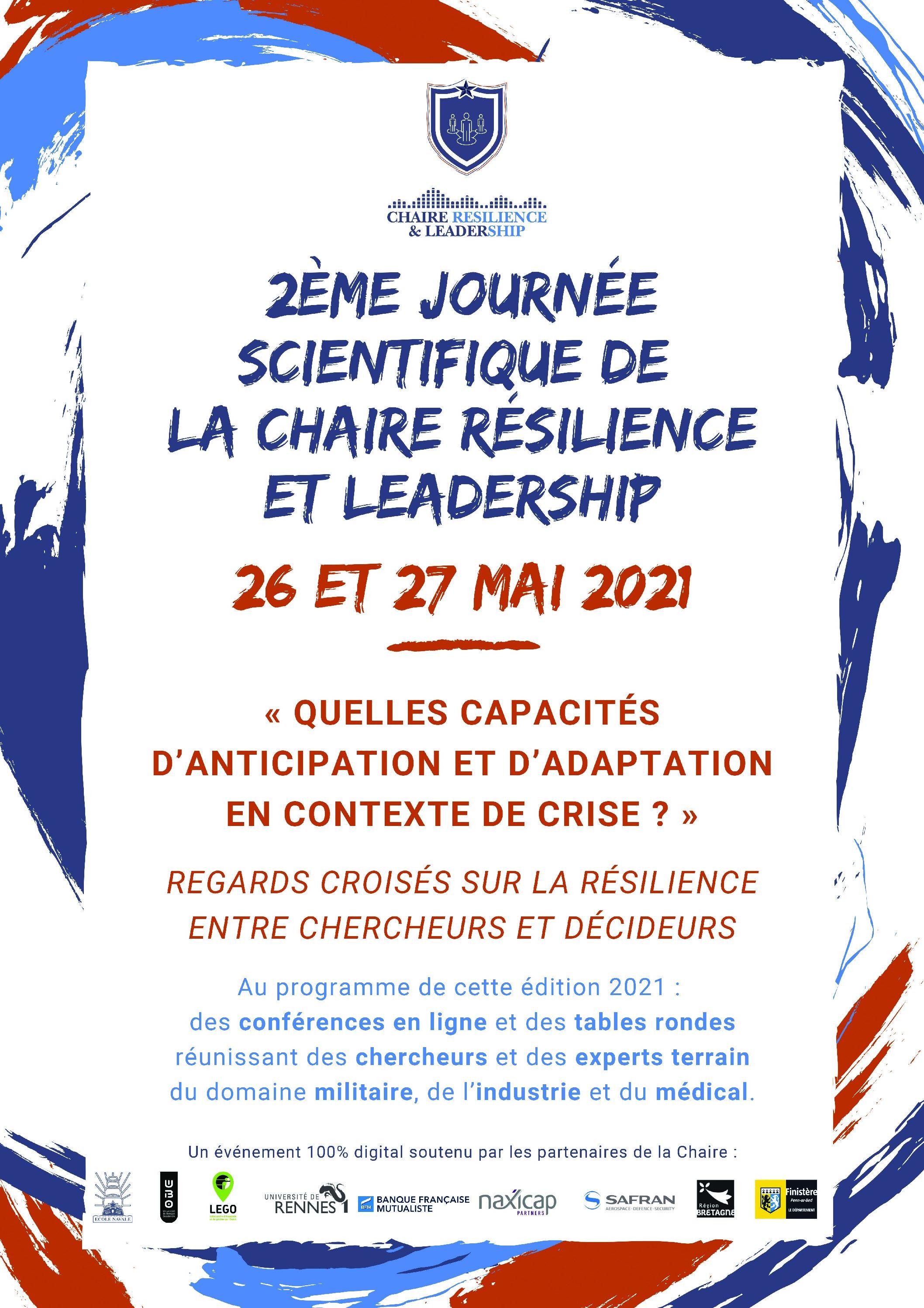 Journées scientifiques – Chaire Résilience et Leadership